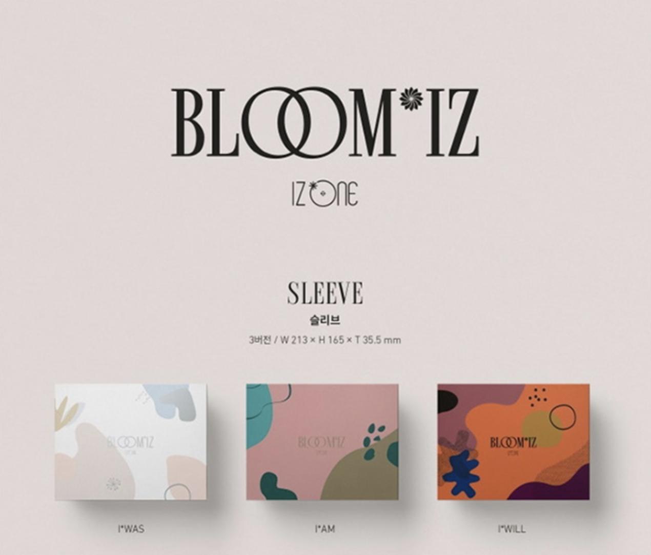 IZ*ONE ファーストアルバム「BLOOM*IZ」(輸入盤)の予約販売決定!最安値ページや特典内容をご紹介!